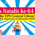 64th UPI Central Library's Anniversary