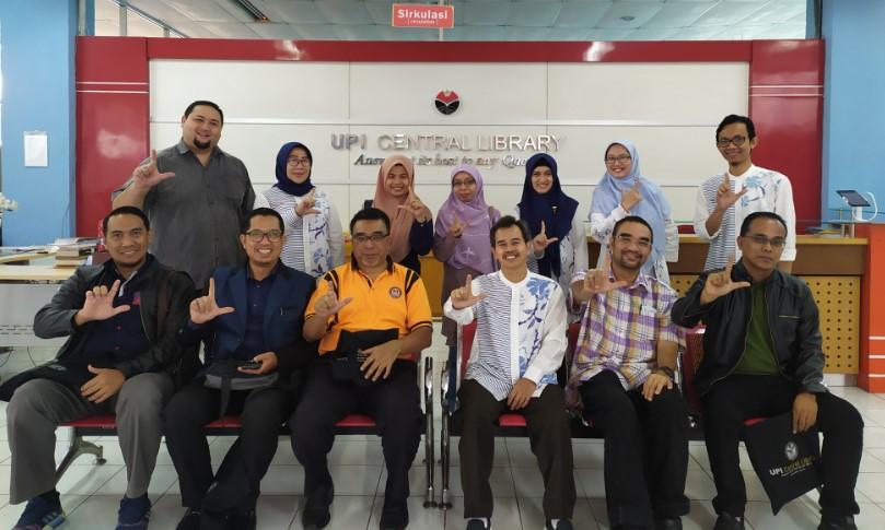 Perpustakaan UPI Menerima Kunjungan dari Universitas Teknologi Mara (UiTM) Malaysia