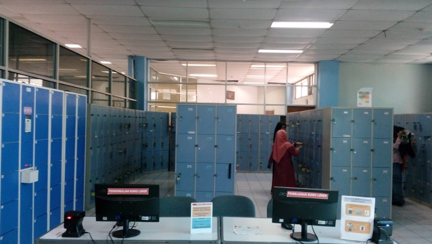 loker perpustakaan upi